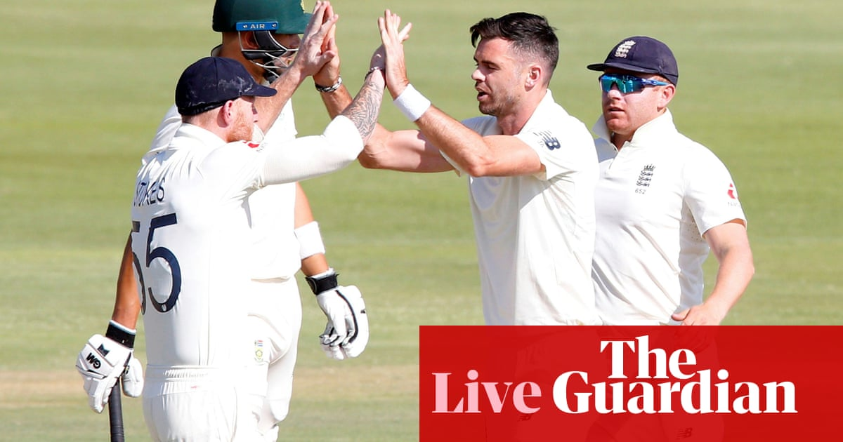 South Africa v England: first Test, day three – live!