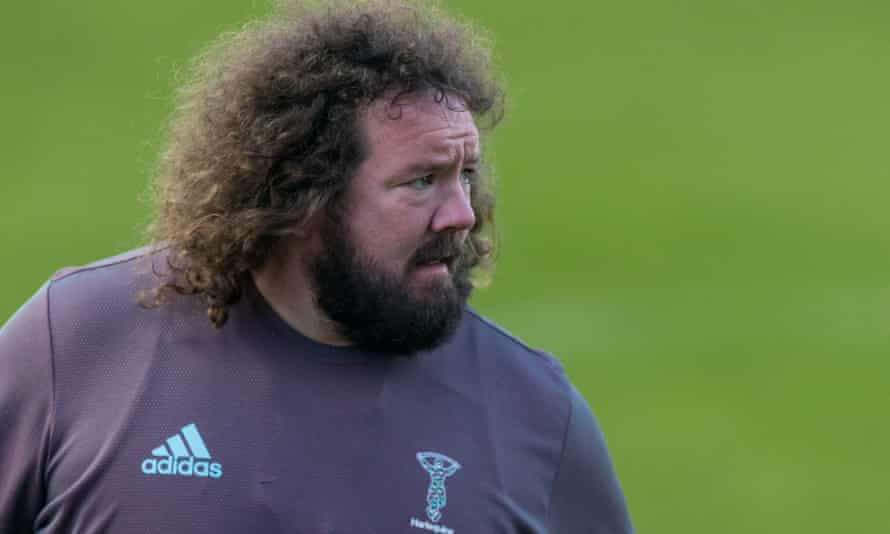 Harlequins' scrum coach Adam Jones says: 'It's realising where you are, and realising how hard you have to work to stay there.'