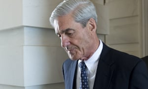 former FBI Director Robert Mueller, special counsel on the Russian investigation.