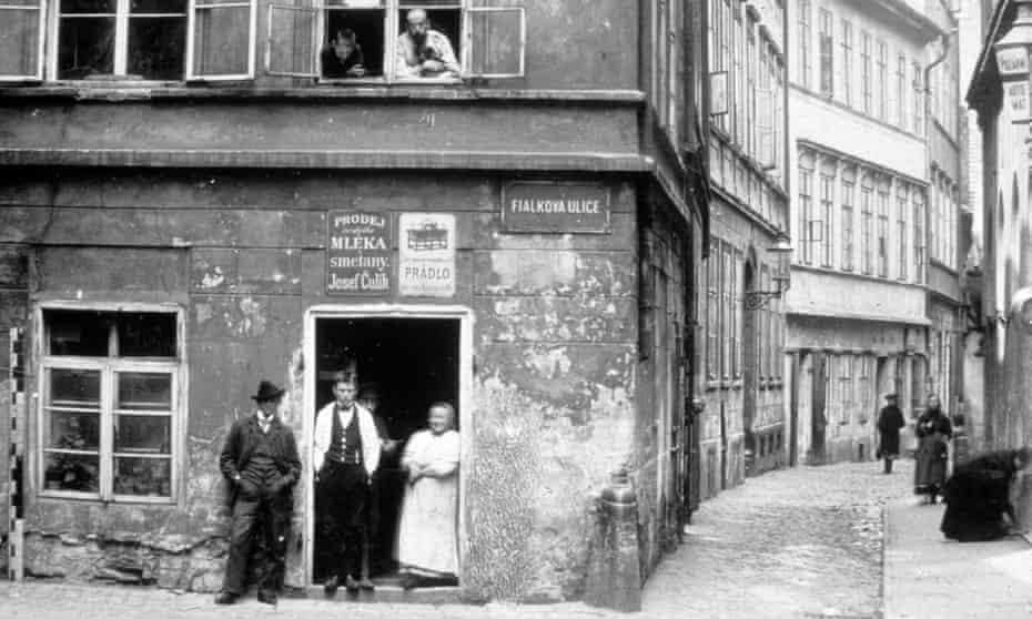 Prague's Jewish quarter, Josefov, in 1920