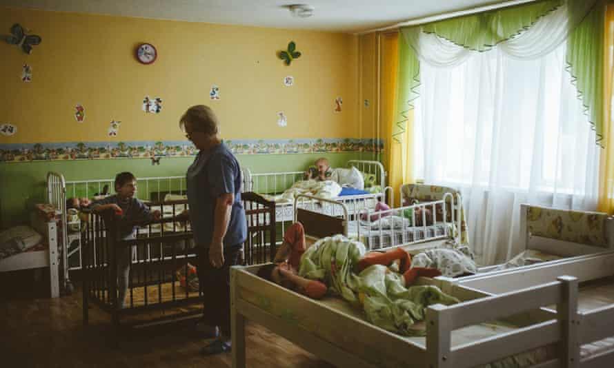 A Minsk orphanage.