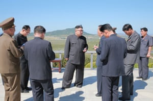 Kim is alway accompanied by a contingent of dutiful notetakers, recording his suggestions on a variety of industries from nuclear weapons to farming.