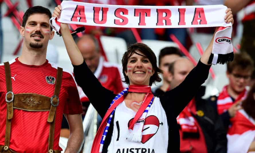 In this world of football match timings, today's Fiver is able to bring you a live image from before Austria v Hungary.