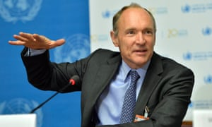 Tim Berners-Lee, founder of the world wide web