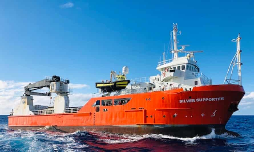 Vidam Perevetilov fell overboard from the Pitcairn Island Silver Supporter supply ship