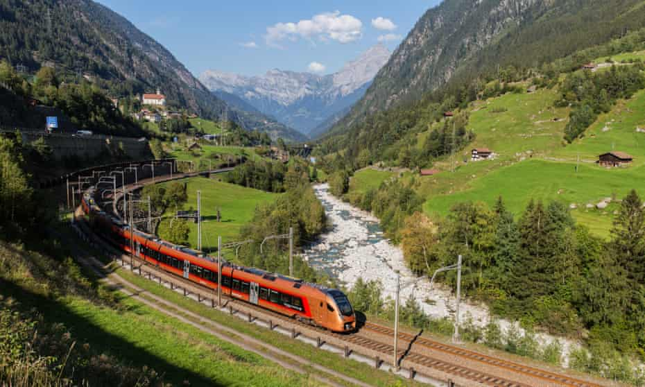 The historic Gotthard route returns later this month.