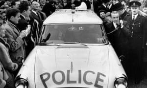 M1 motorway opening by Ernest Marples, 2 November 1959.