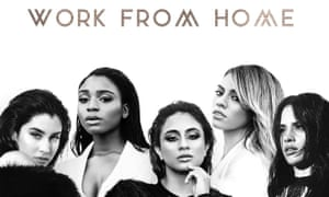 Fifth Harmony single cover for Work from Home