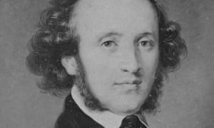 Felix Mendelssohn-Bartholdy, circa 1830.