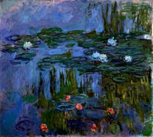 Claude Monet, Nymphéas (Waterlilies), 1914-15. Painting the Modern Garden: Monet to Matisse 30 January 2016 to 20 April 2016