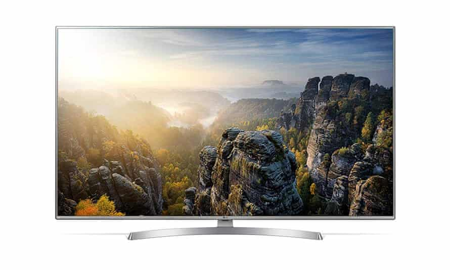 Smart Tvs Six Of The Best 4k Hdr Sets Television The Guardian