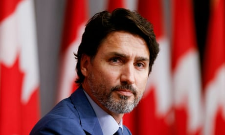 Justin Trudeau: Covid pandemic 'really sucks' but better days are coming – video