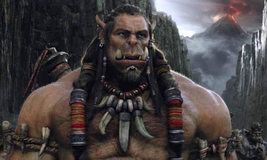 Strong showing … Durotan in Warcraft: The Beginning.