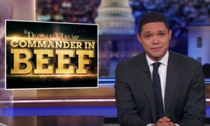 Trevor Noah: 'That's right, my friends, the president of the United States is upset because he feels that he should have more Twitter followers.'