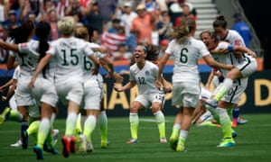 The final whistle blows are USA can finally rejoice.
