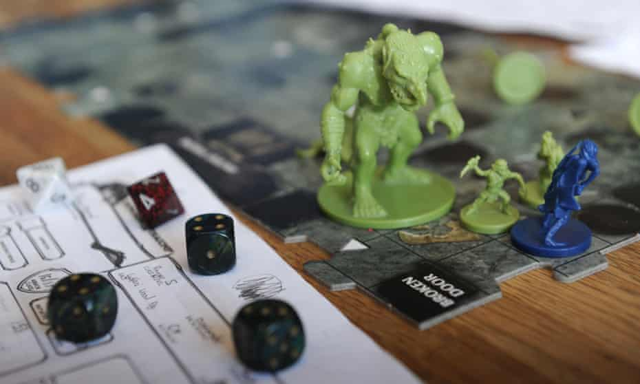 A tabletop role-playing game