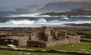 The Brough of Birsay settlements, Orkney