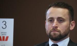 Nico Louw, an advisor to prime minister Scott Morrison,