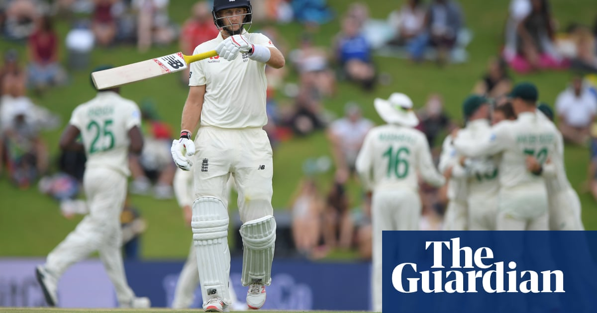 Joe Root blames England's Test defeat on slow start and new-ball malaise