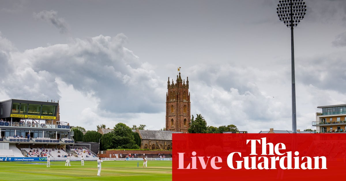 County cricket day three: Lancashire v Kent, Somerset v Leicestershire – live!