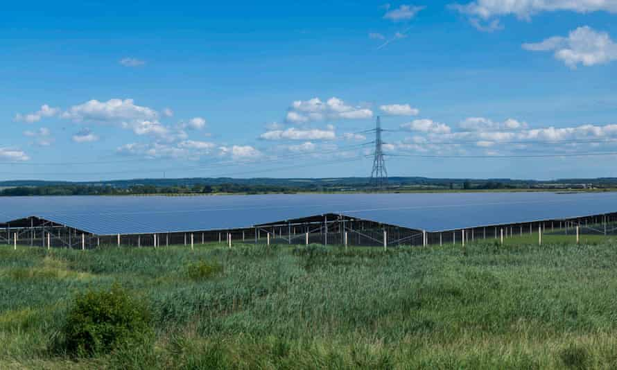 Visualisation of proposed Cleve Hill Solar Park