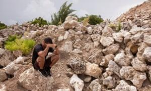 A refugee on Nauru