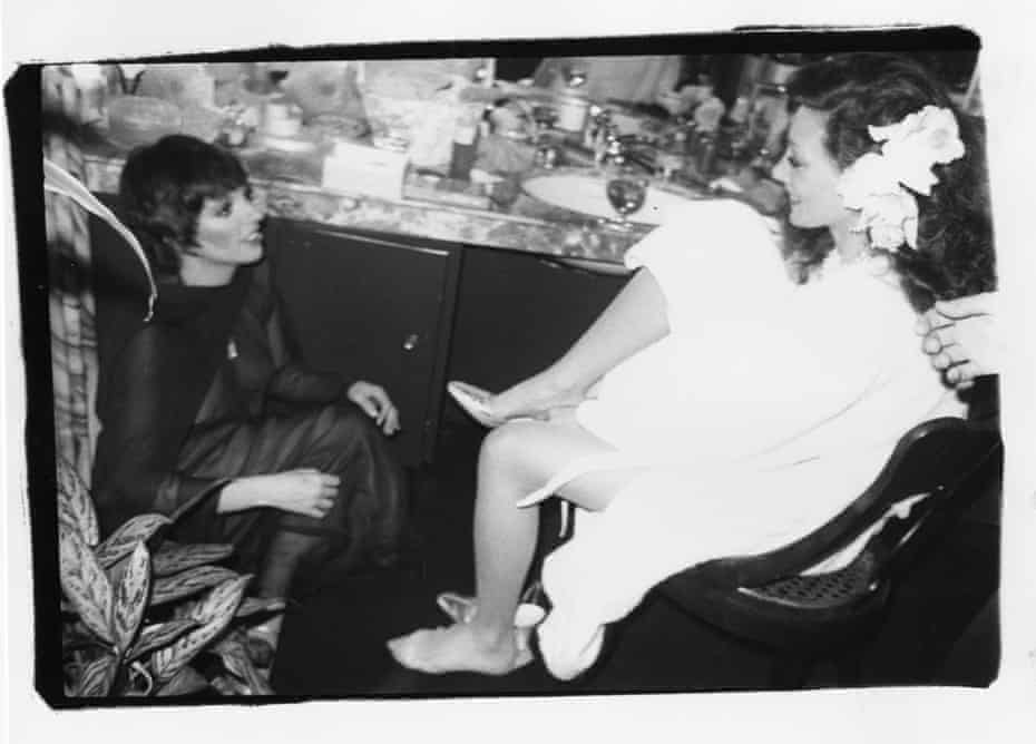 Bob Colacello – Liza Minnelli with Marisa Berenson on her wedding day, Beverly Hills, 1976.