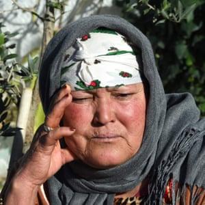 Amri's mother, Nour el-Houda Hassani.