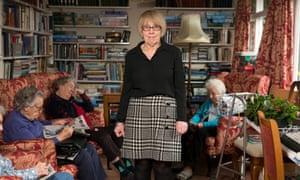 Karen Cooper at Greensleeves Care Home in Tunbridge Wells in Kent.