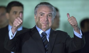 Michel Temer on Wednesday. The president's mandate survived because Brazil did an uneasy deal with itself.