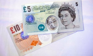 Bank of England plastic banknotes