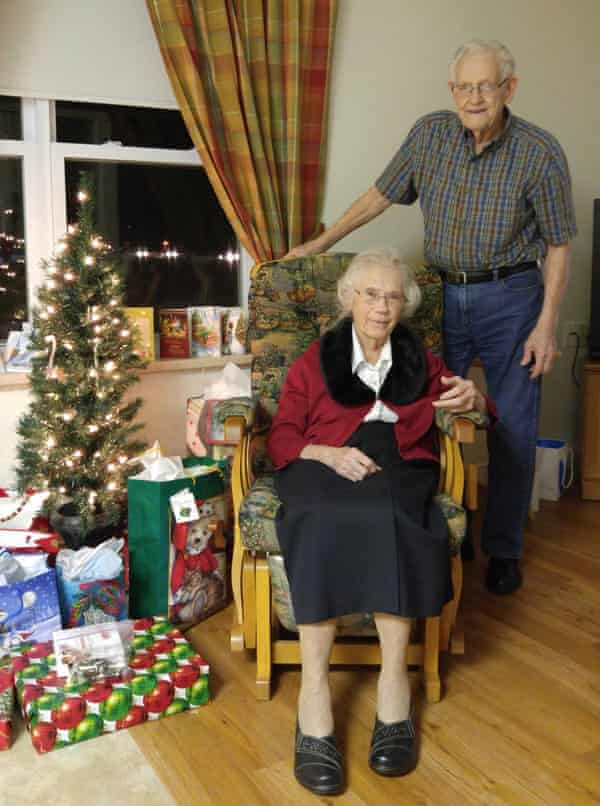 Herbert Goodine, 91, was informed he must leave the care facility where he lives with his wife Audrey Goodine, 89, and move into a nursing home.