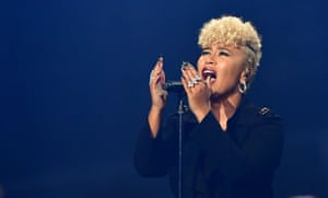 Emeli Sandé, who won best British female solo artist