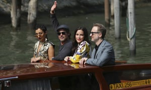Actors Ruth Negga, Brad Pitt, Liv Tyler and director James Gray at the 76th edition of the Venice Film Festival last week.