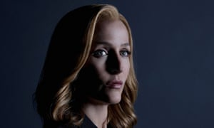 Gillian Anderson as Dana Scully on the X-Files.