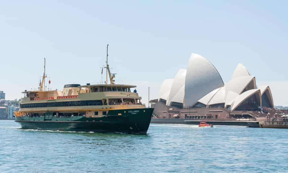 The ferry from Circular Quay is John Torode's favourite way to see the Harbour Bridge and Opera House.