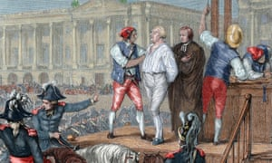 French Revolution - execution of King Louis XVI