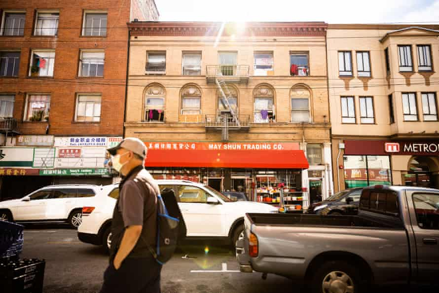An SRO residence in San Francisco's Chinatown on 2 August 2021.