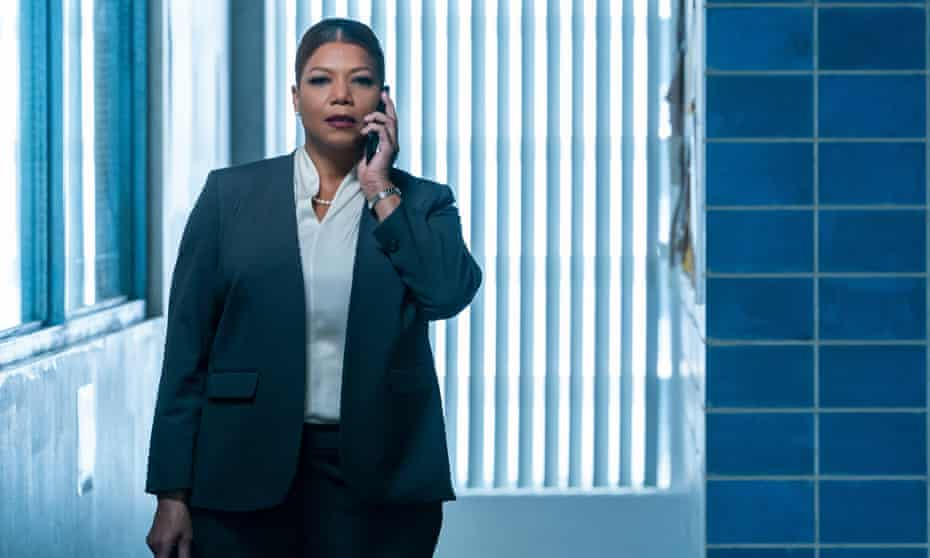 Guardian angel … Queen Latifah in The Equalizer.