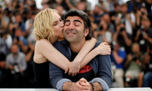 "70th Cannes Film Festival - Photocall for the film Aus dem Nichts (In the Fade) in competition70th Cannes Film Festival - Photocall for the film ""Aus dem Nichts"" (In the Fade) in competition - Cannes, France. 26/05/2017. Director Fatih Akin and cast member Diane Kruger pose. REUTERS/Jean-Paul Pelissier TPX IMAGES OF THE DAY"