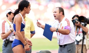 Katarina Johnson-Thompson failed to record a mark in the long jump after overstepping on her final effort.