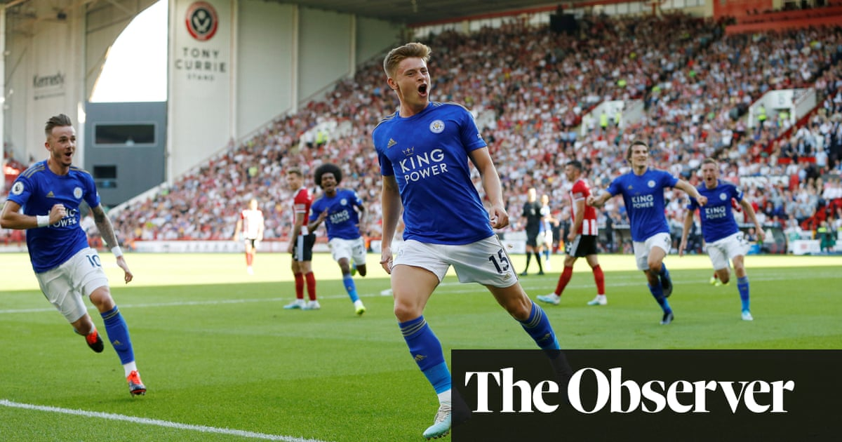 Harvey Barnes scorcher earns points for Leicester at Sheffield United