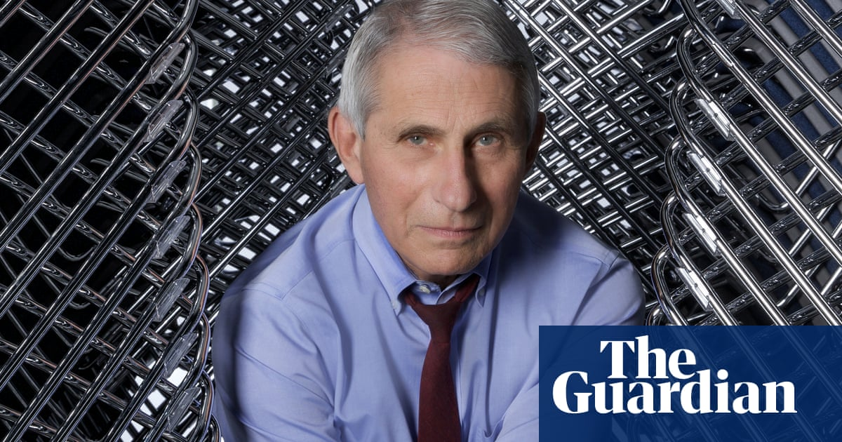 'Maybe the guy's a masochist': how Anthony Fauci became a superstar