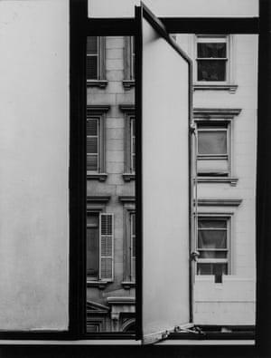 Leslie Gill, Studio Window, West 56th Street, New York, ca. 1938