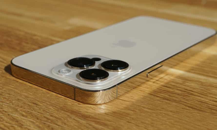 white iphone 13 pro