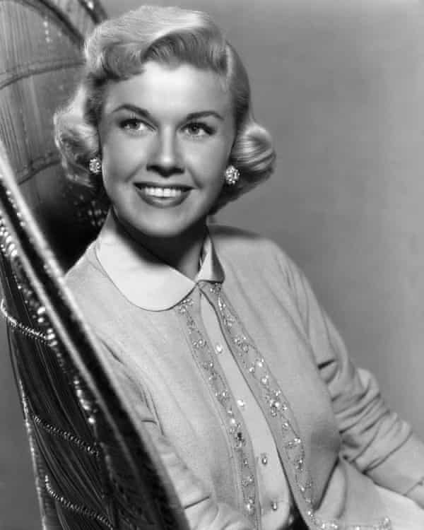 A talent without irony ... an early promotional image of Doris Day.
