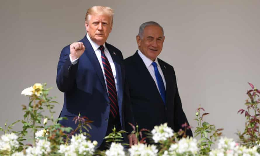 US president Donald Trump meets with Israeli prime minister Benjamin Netanyahu at the White House in September.