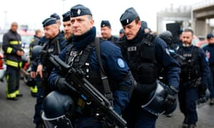 French police at Orly