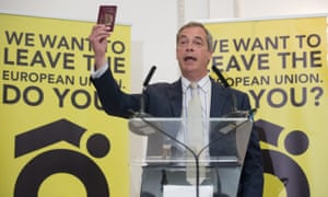 Nigel Farage also called the prime minister 'Dishonest Dave'.
