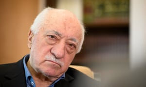 Turkish cleric Fethullah Gülen at his home in Saylorsburg, Pennsylvania, in 2017.